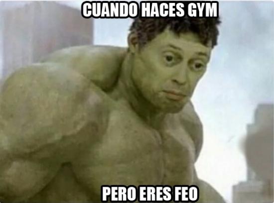 Meme_otros - El gimnasio no arregla todo...