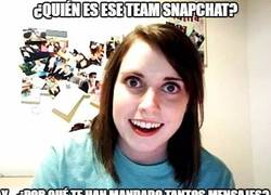 Enlace a Quiere matar a ese Team Snapchat