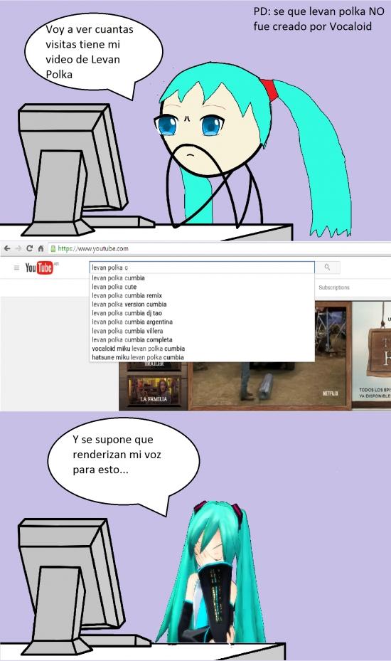 Computer_guy - Miku viendo Youtube...