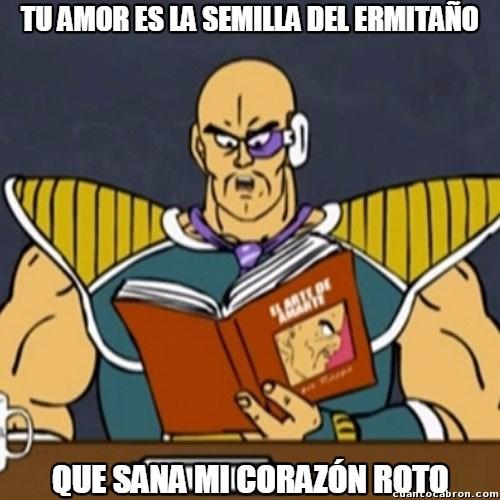 El_arte_de_amarte - Nappa es un romántico