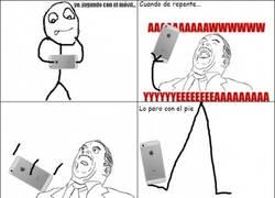 Enlace a Cuando tienes muy mala suerte con el móvil...