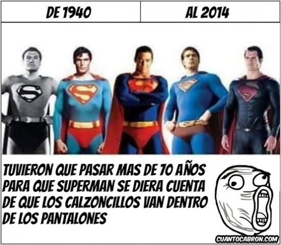 Lol - Superman ha tardado en darse cuenta, pero lo ha hecho