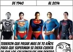 Enlace a Superman ha tardado en darse cuenta, pero lo ha hecho