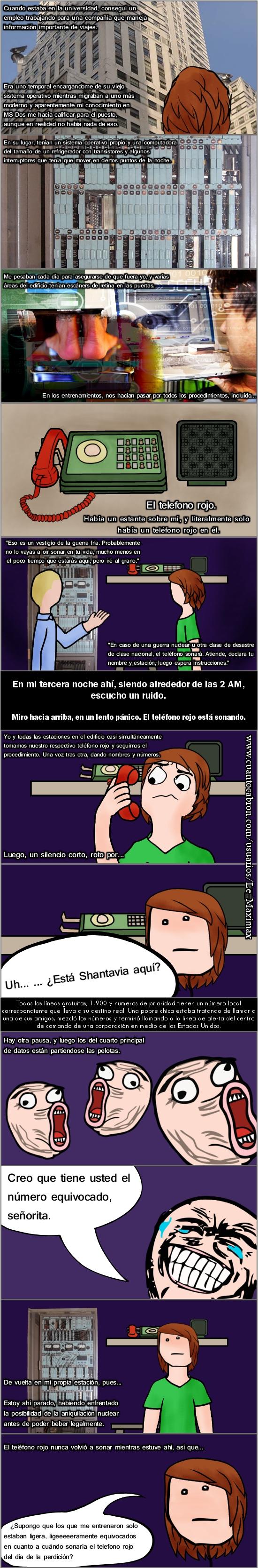 Pokerface - La historia del teléfono rojo