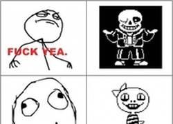 Enlace a Personajes de Undertale según los Memes