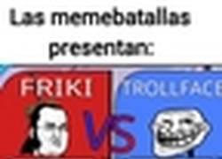 Enlace a Trollface vs Friki: La revancha