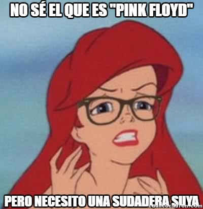 Ariel_hipster - Debe ser una sudadera rosa chulísima