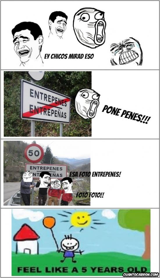 Like_a_5_years_old - Cuando entramos en un pueblo...