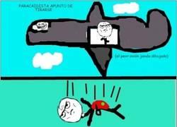 Enlace a La historia del paracaidista
