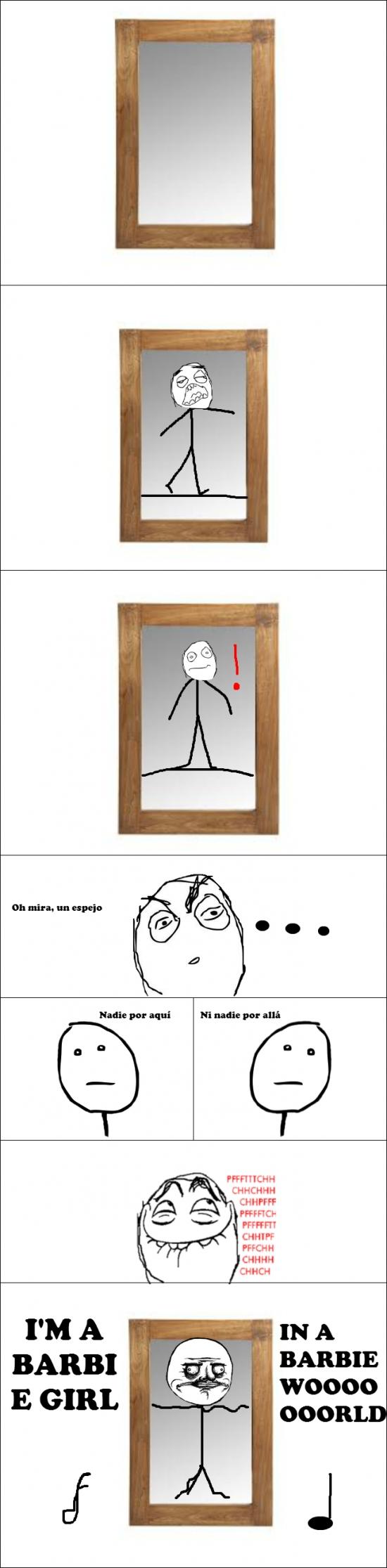Me_gusta - Todos lo hemos hecho delante de un espejo...