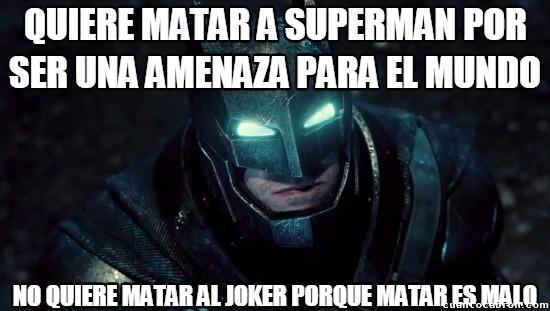 Meme_otros - Batman, enigmático hasta para sí mísmo