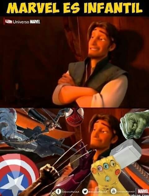 Meme_otros - Se enfadó el señor marvel