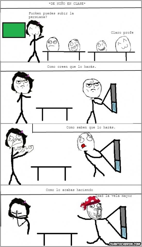 Lol - A todos nos pasaba esto en la escuela