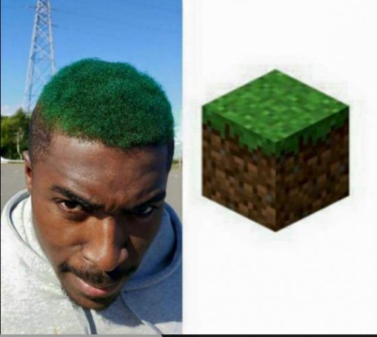 Cu nto cabr n cuando vas al peluquero y te gusta minecraft for Vas al