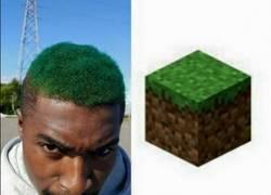 Enlace a Cuando vas al peluquero y te gusta Minecraft