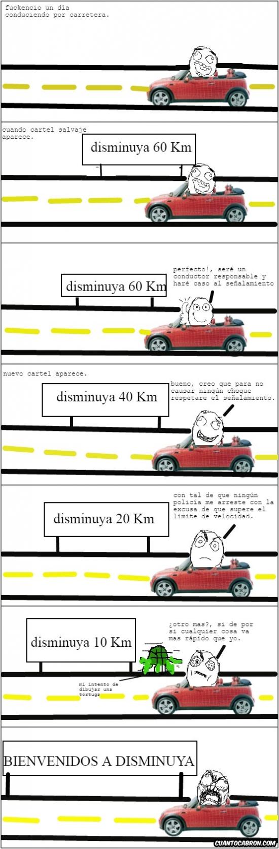 Ffffuuuuuuuuuu - La frustración de los conductores responsables