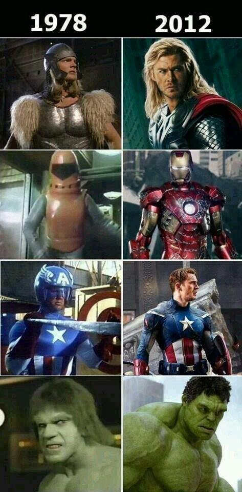 Otros - El antes y el después de Los Vengadores
