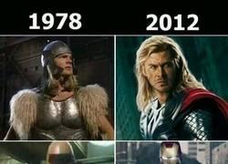 Enlace a El antes y el después de Los Vengadores