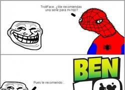 Enlace a Hay que ser muy cruel para recomendarle eso a Spiderman...