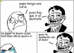 Enlace a Así es Dolan en su tiempo libre de dentista