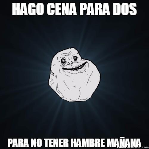Meme_forever_alone - La soledad en estado puro :(