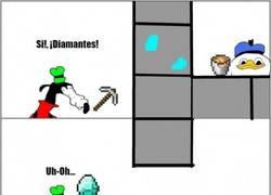 Enlace a Dolan atacando en Minecraft