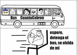 Enlace a A veces coger el bus no es tan fácil