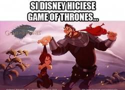 Enlace a ¿Tendría tantos fans Game of Thrones hecho por Disney?