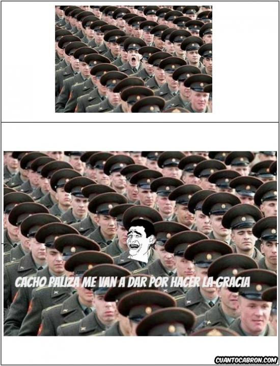 Yao - A este soldado se le va a caer el pelo...