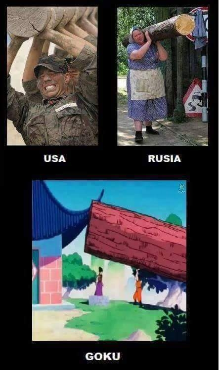 Anime,Dragon ball,Goku,Rusia,USA