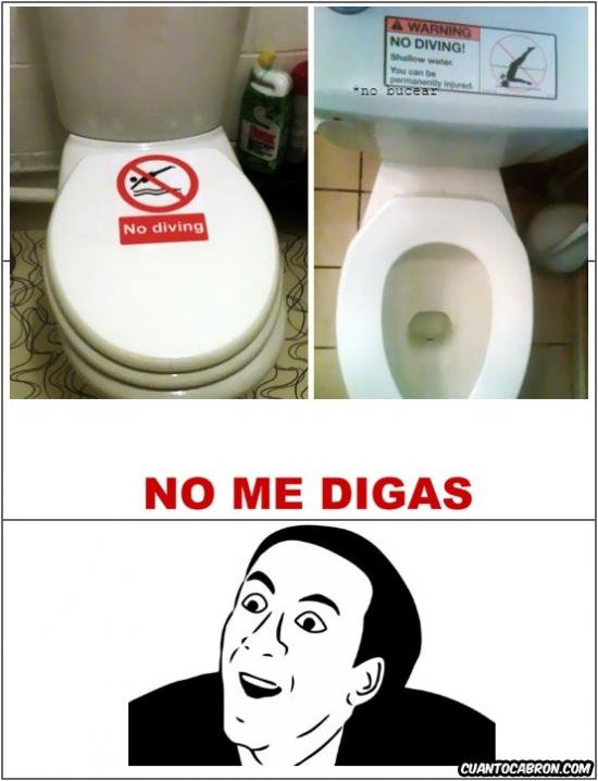 No_me_digas - No bucear... gracias por avisar