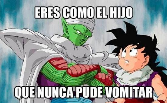 Meme_otros - La extraña forma de reproducción de Piccolo