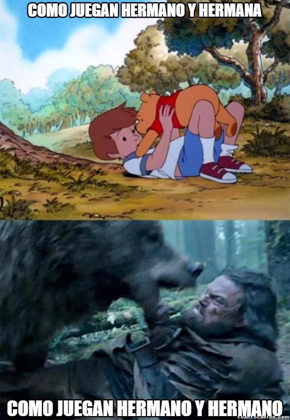 Bear_leo - Diferentes relaciones entre hermanos...