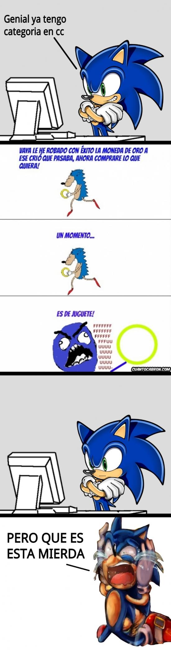 Sonic - ¿No te gusta, Sonic? :(