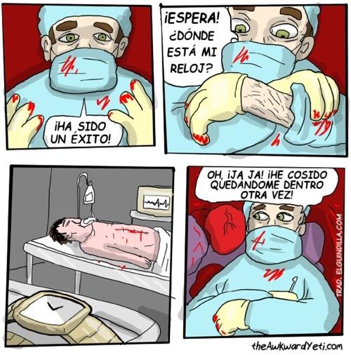 Otros - Asegúrate de dejar todo bien si eres doctor