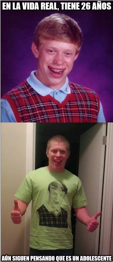 Bad_luck_brian - Kyle Craven sigue teniendo la misma cara después de tantos años