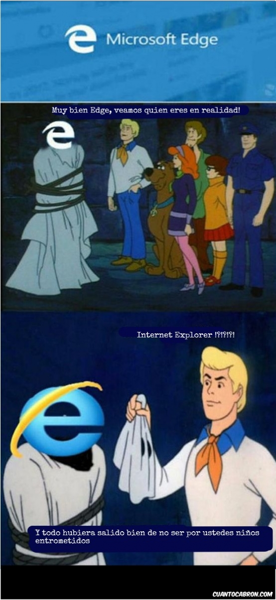 Otros - Internet explorer siempre será el mismo...