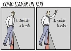Enlace a Cuidado de no equivocarte cuando llamas a un taxi podrías llamar a alguien más