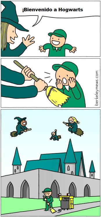 Otros - No todos tienen la oportunidad de ser magos en Hogwarts...