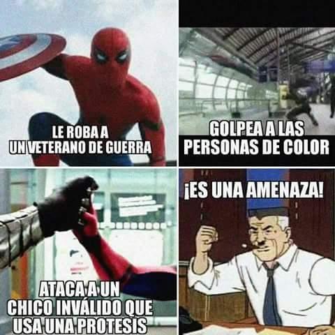 Spiderman60s - Spiderman es una amenaza total