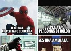Enlace a Spiderman es una amenaza total