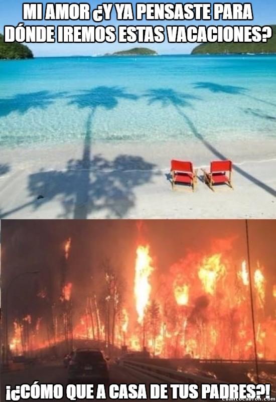 Meme_otros - Del cielo al infierno en una frase