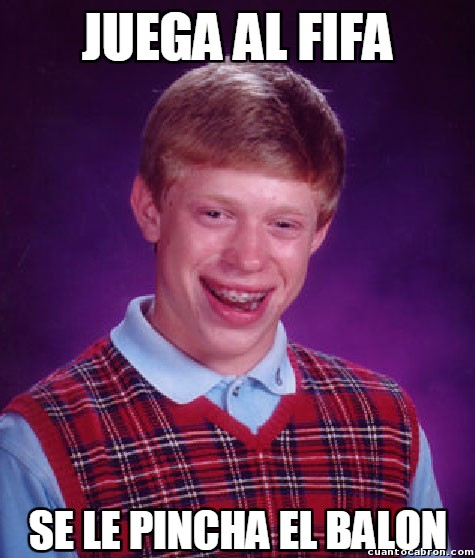 Bad_luck_brian - Triste becario...