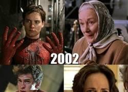 Enlace a Creo que a Spiderman y su tía cada vez los hacen mas jóvenes