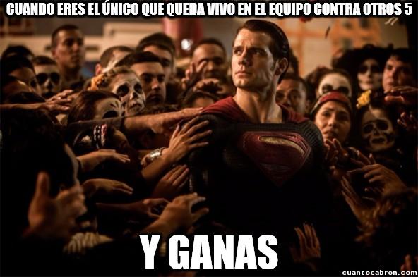 Superman_heroe - Uno se siente un Dios