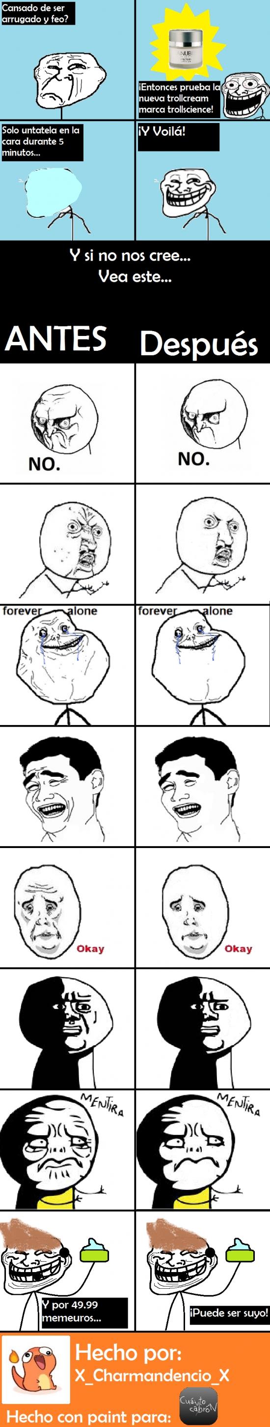 Trollface - Memes sin arrugas... así serían