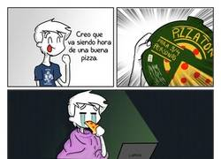 Enlace a Lo peor de estar tu solo con una pizza