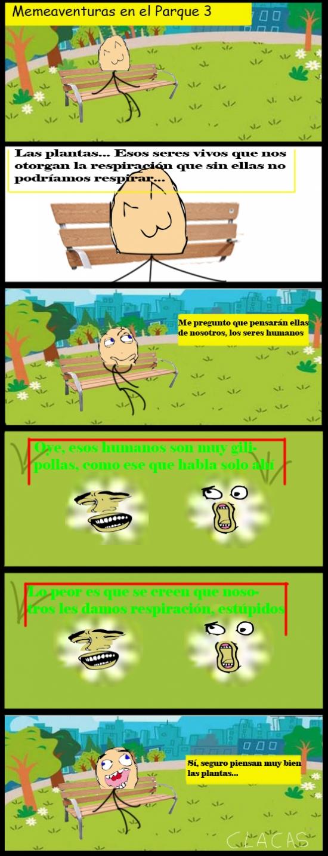 Mix - MemeAventuras - En El Parque Episodio 3: ¿En qué piensan las plantas?