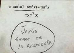 Enlace a Jesús no siempre es la respuesta