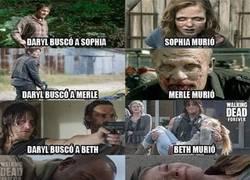 Enlace a Daryl como que es el que trae mala suerte